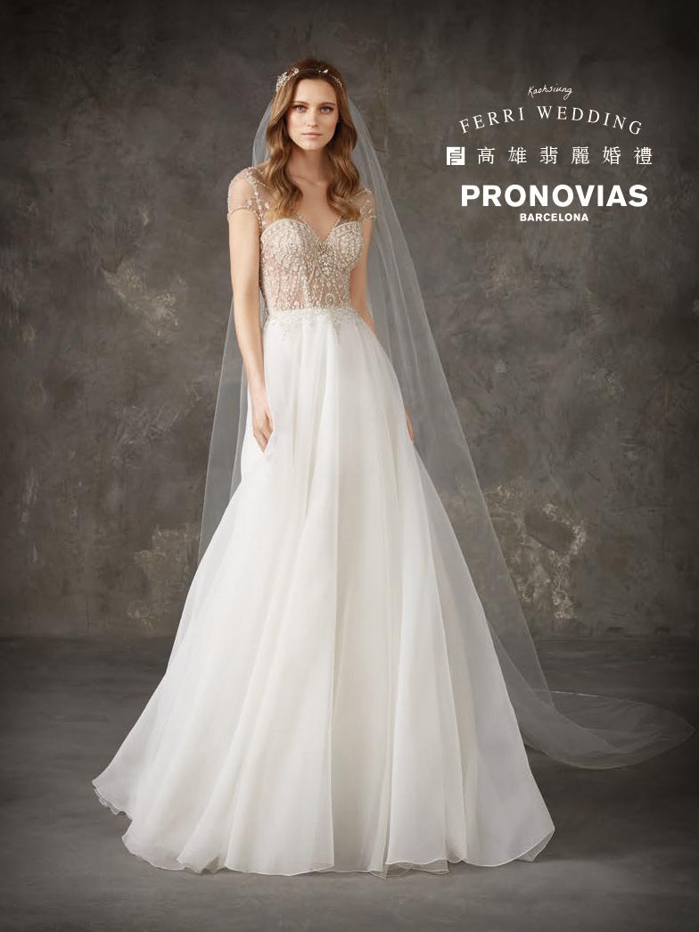 Pronovias,西班牙禮服,西班牙婚紗,代理禮服,戶外婚禮,魚尾